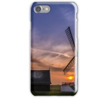 Lytham Windmill at Sunset iPhone Case/Skin
