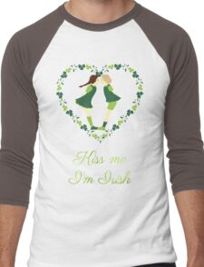 Kiss me I'm Irish Men's Baseball ¾ T-Shirt