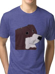 Lily- A Dog with a Dream Tri-blend T-Shirt