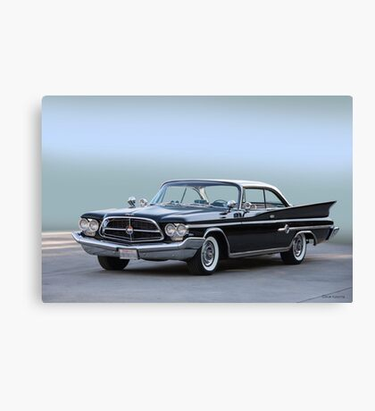 1960 Chrysler 300 F Coupe Canvas Print