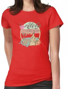 Alola League Champion - Mimikyu Womens Fitted T-Shirt