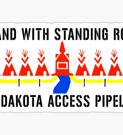 I Stand With Standing Rock -no dakota access pipeline- Sticker