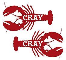 That Cray Cray Crayfish Crustacean Photographic Print