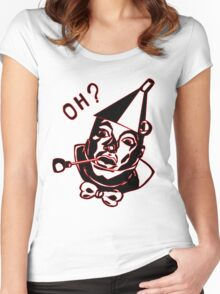 Tin Man Troll Women's Fitted Scoop T-Shirt