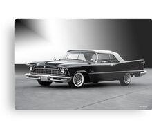 1957 Chrysler Crown Imperial Convertible Metal Print
