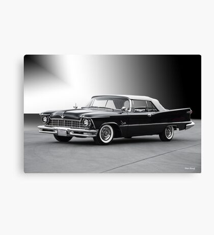 1957 Chrysler Crown Imperial Convertible Canvas Print