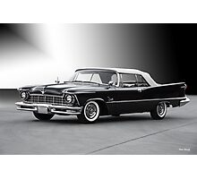 1957 Chrysler Crown Imperial Convertible Photographic Print