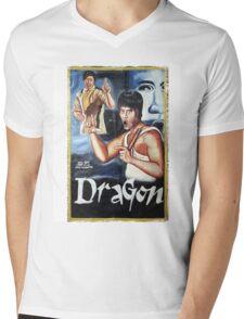 Bruce Lee - Dragon Mens V-Neck T-Shirt