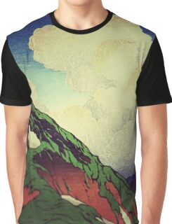 The Hike to Mt Harusan Graphic T-Shirt
