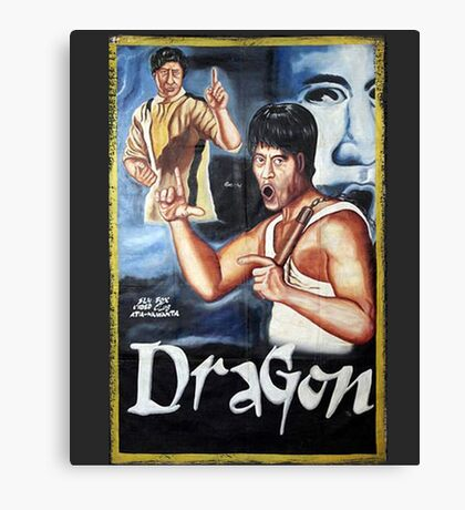 Bruce Lee - Dragon Canvas Print