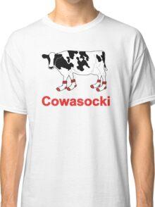 Milk Cow in Socks - Cowasocki Cow A Socky Classic T-Shirt