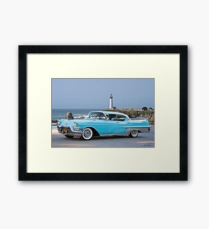 1957 Cadillac Fleetwood 60-S Sedan Framed Print