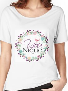 YOUnique Women's Relaxed Fit T-Shirt