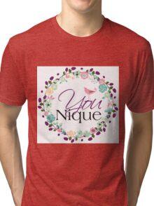 YOUnique Tri-blend T-Shirt
