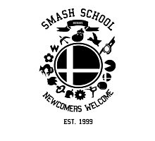 Smash School Newcomer (Black) Photographic Print