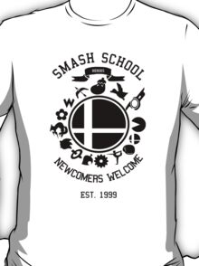 Smash School Newcomer (Black) T-Shirt