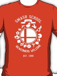 Smash School Newcomer (White) T-Shirt