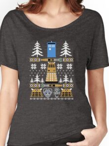 Doctor Ugly Sweater Who Women's Relaxed Fit T-Shirt