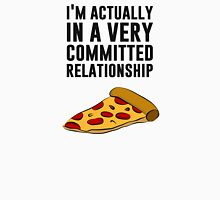 Pepperoni Pizza Love - A Serious Relationship Womens Fitted T-Shirt