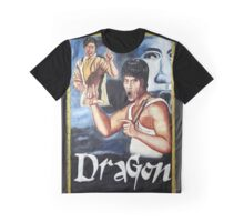 Bruce Lee - Dragon Graphic T-Shirt