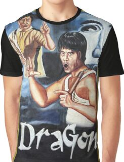 Bruce Lee - Dragon Graphic T-Shirt