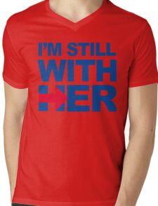 I'm Still With HER Mens V-Neck T-Shirt