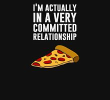 Pepperoni Pizza Love - A Serious Relationship Unisex T-Shirt