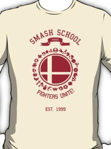 Smash School United (Red) T-Shirt