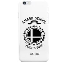 Smash School United (Black) iPhone Case/Skin