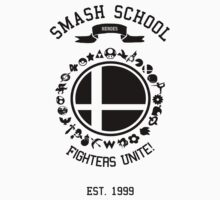 Smash School United (Black) by Nguyen013