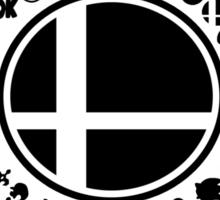 Smash School United (Black) Sticker