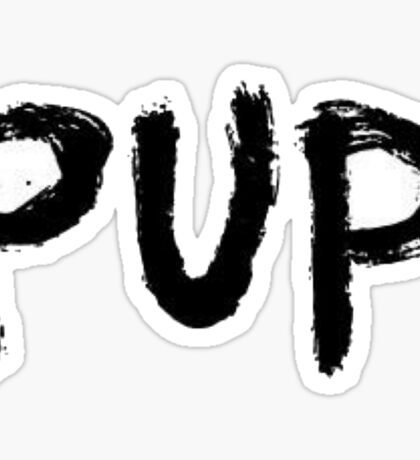 PUP band logo Sticker