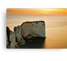 Sunrise at Old Harry Rocks Canvas Print