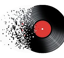 vinyl to digital by Frank Cortez