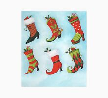 Christmas Boots Unisex T-Shirt