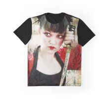 Geisha Samurai Graphic T-Shirt