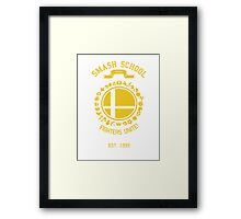 Smash School United (Yellow) Framed Print