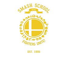 Smash School United (Yellow) Photographic Print