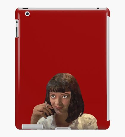 Mia Wallace - Pulp fiction iPad Case/Skin