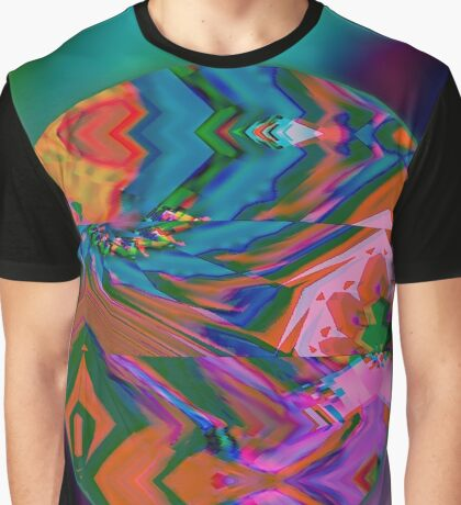 Geometry Glitch n.3 Graphic T-Shirt