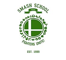 Smash School United (Green) Photographic Print