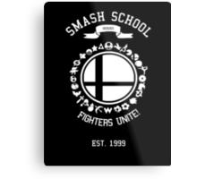 Smash School United (White) Metal Print