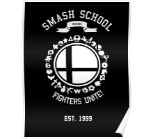 Smash School United (White) Poster