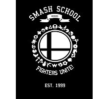 Smash School United (White) Photographic Print