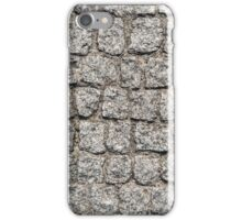 Stone pavement texture. iPhone Case/Skin