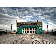 The Pier at Paignton Photographic Print