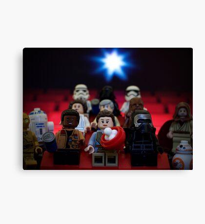 Star Wars Movie Night Canvas Print