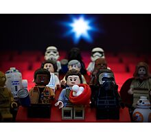 Star Wars Movie Night Photographic Print