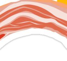 Bacon and Eggs Rainbow Sticker