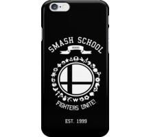 Smash School United (White) iPhone Case/Skin
